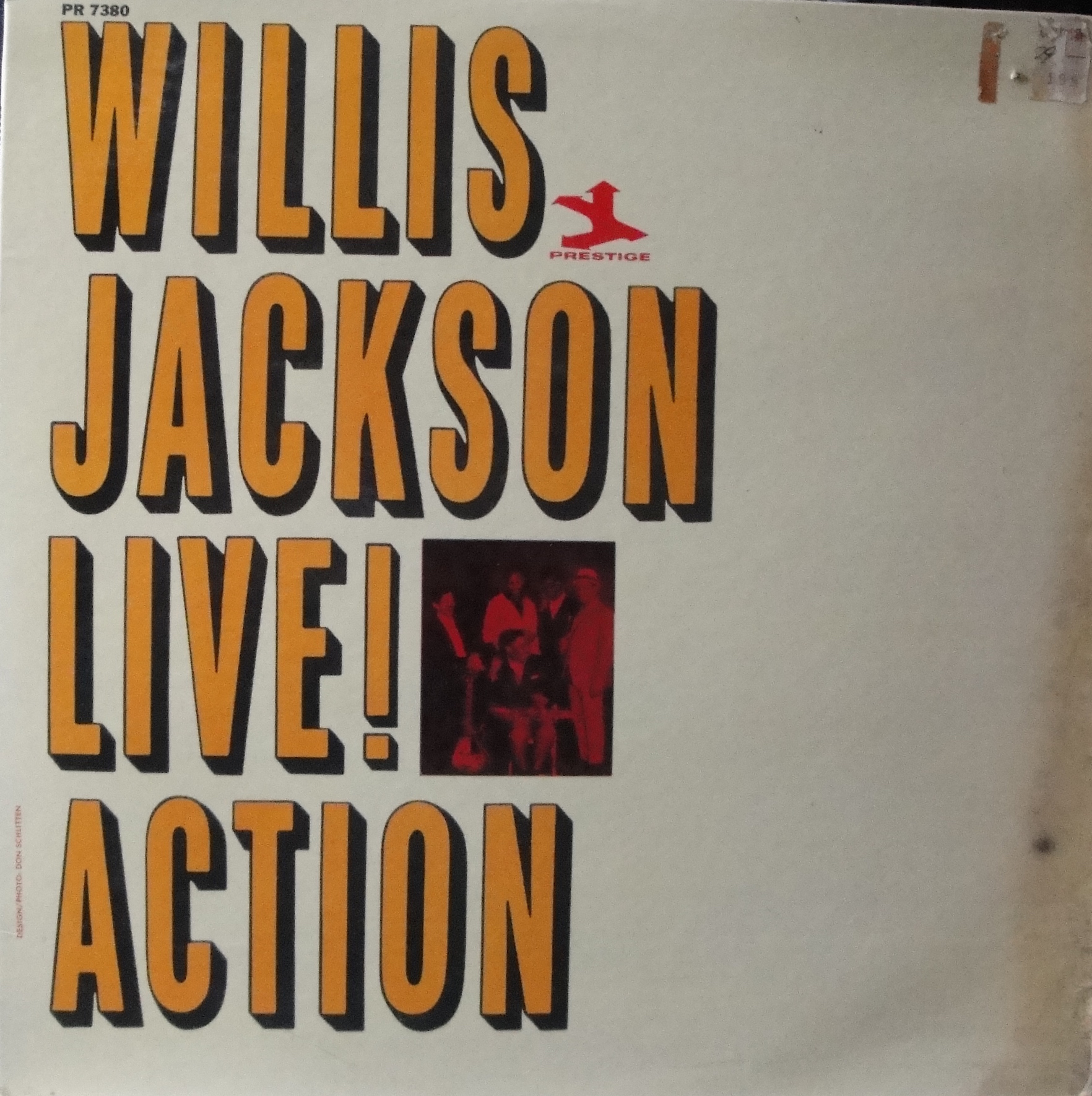 Willis Jackson - Live! Action
