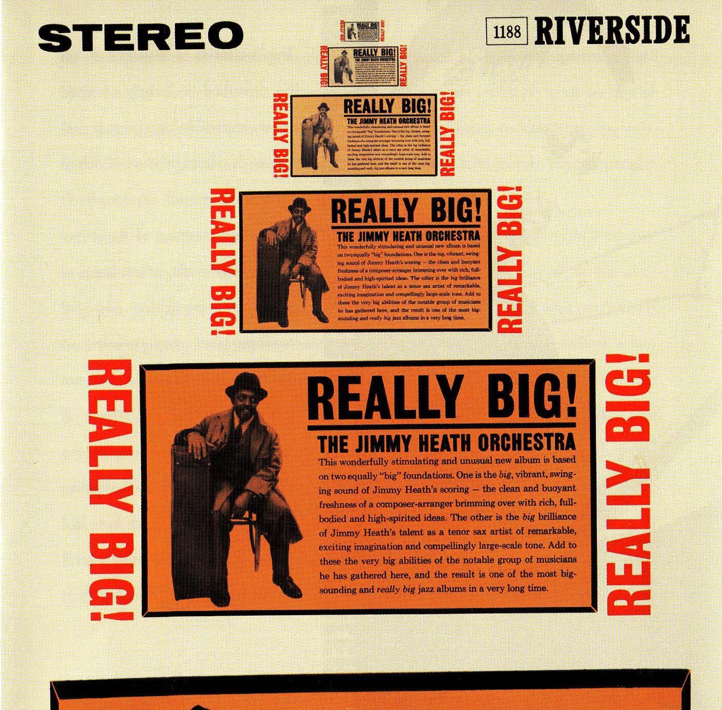 The Jimmy Heath Orchestra - Really Big!